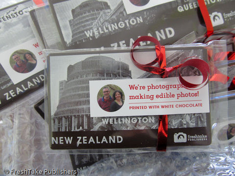 Photo of handmade New Zealand chocolate