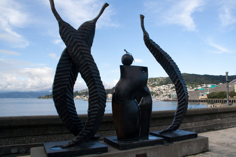 Photo of Wellington's Artistic Waterfront