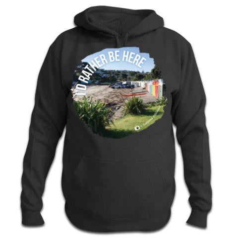 Photo of a Ashphalt NZ Hoodie - I'd Rather Be Here