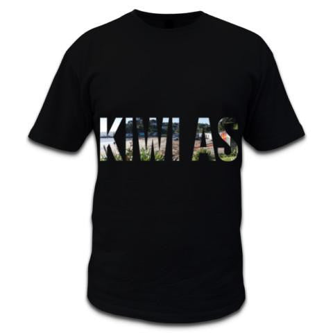 "Photo of New Zealand Men's Black ""Kiwi As"" T-Shirt"