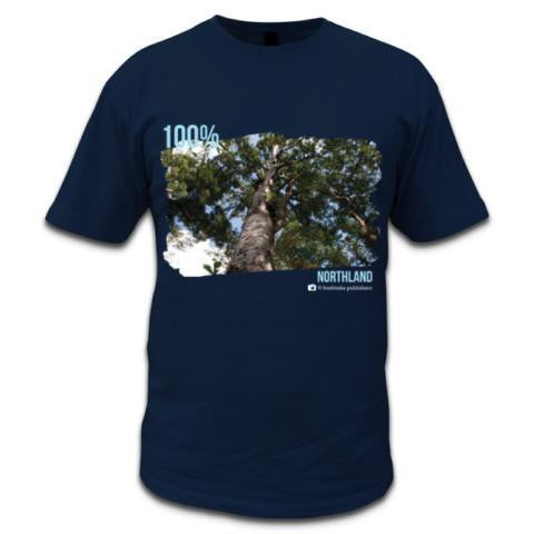 Photo of Navy NZ Men's T-shirt 100% Northland