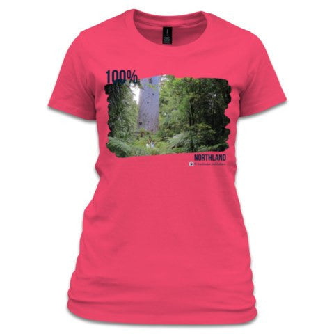 Tee - Photo of Tane Mahuta - Women's NZ