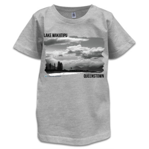 Photo of Grey Queenstown Childrens T shirt