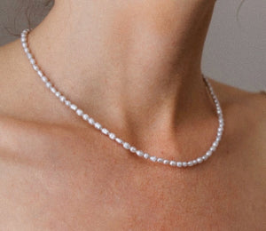 Aria Pearl Necklace