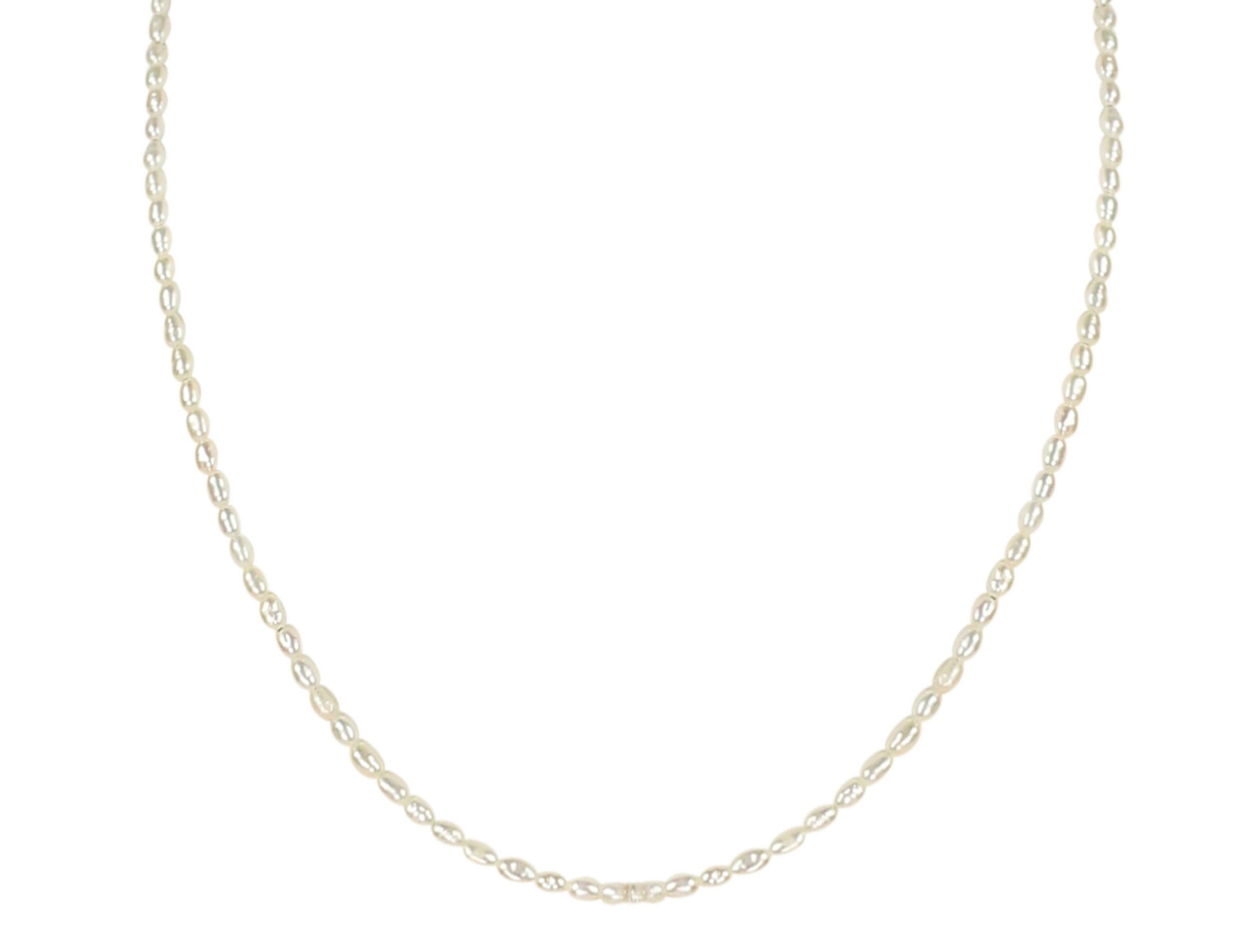 Celine Tiny Pearl Necklace
