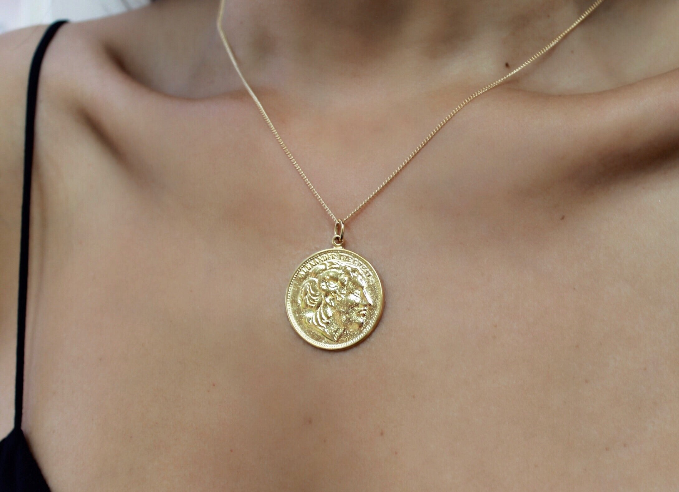 Dasha Coin  Necklace