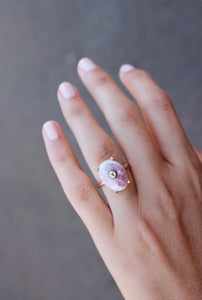 Mond - Pink Tourmaline Ring