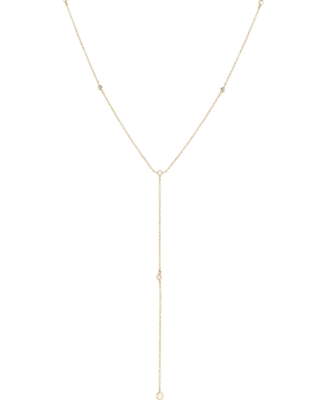 Helene Diamond Lariat