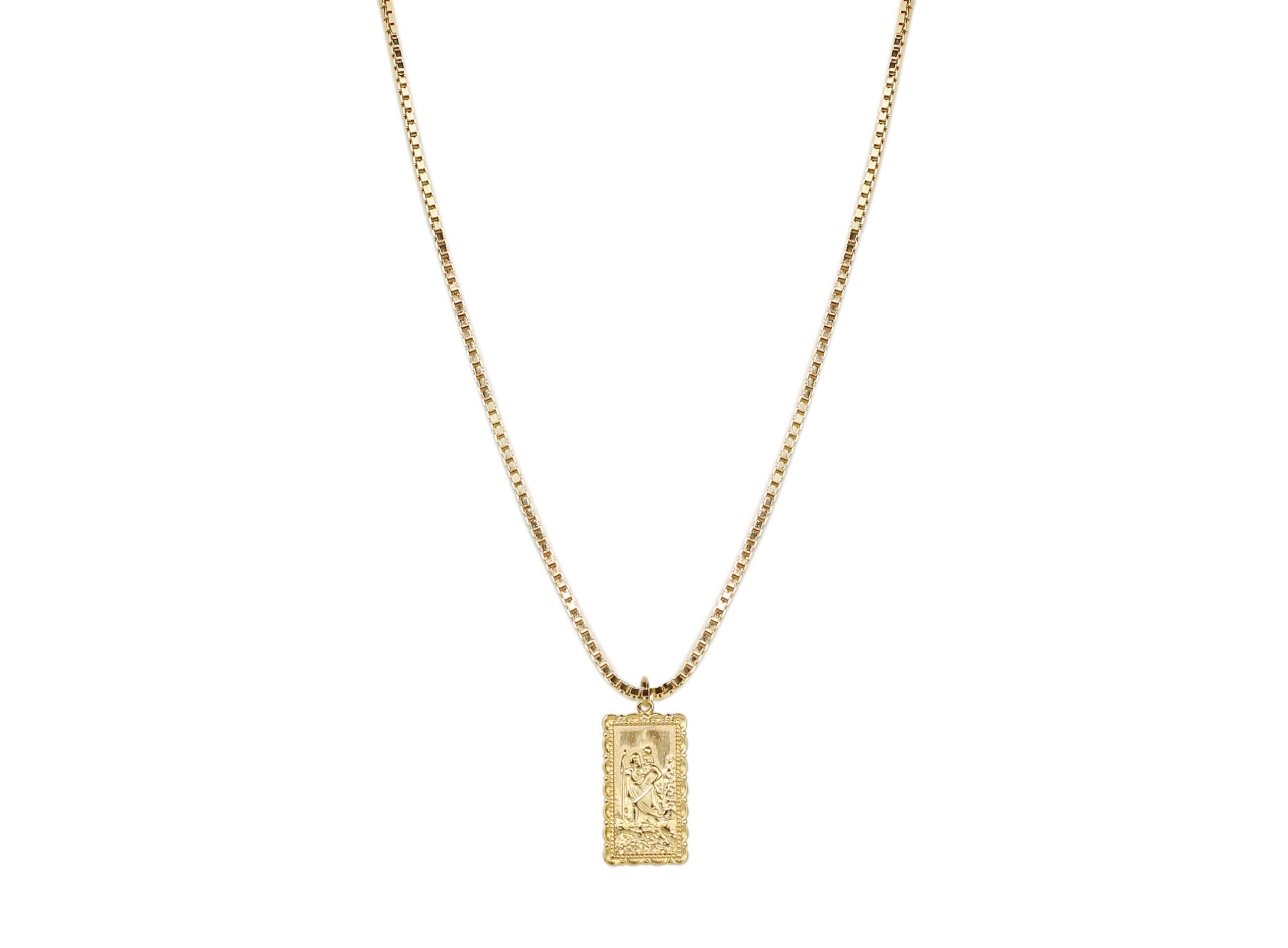 Saint Cristophe XL Necklace
