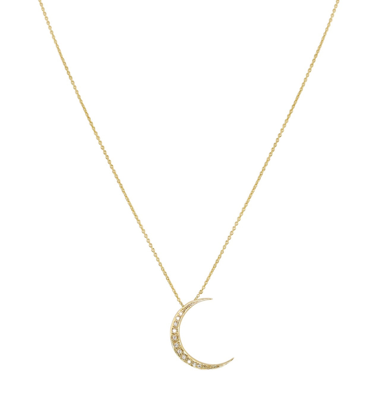 Luna Diamond Necklace
