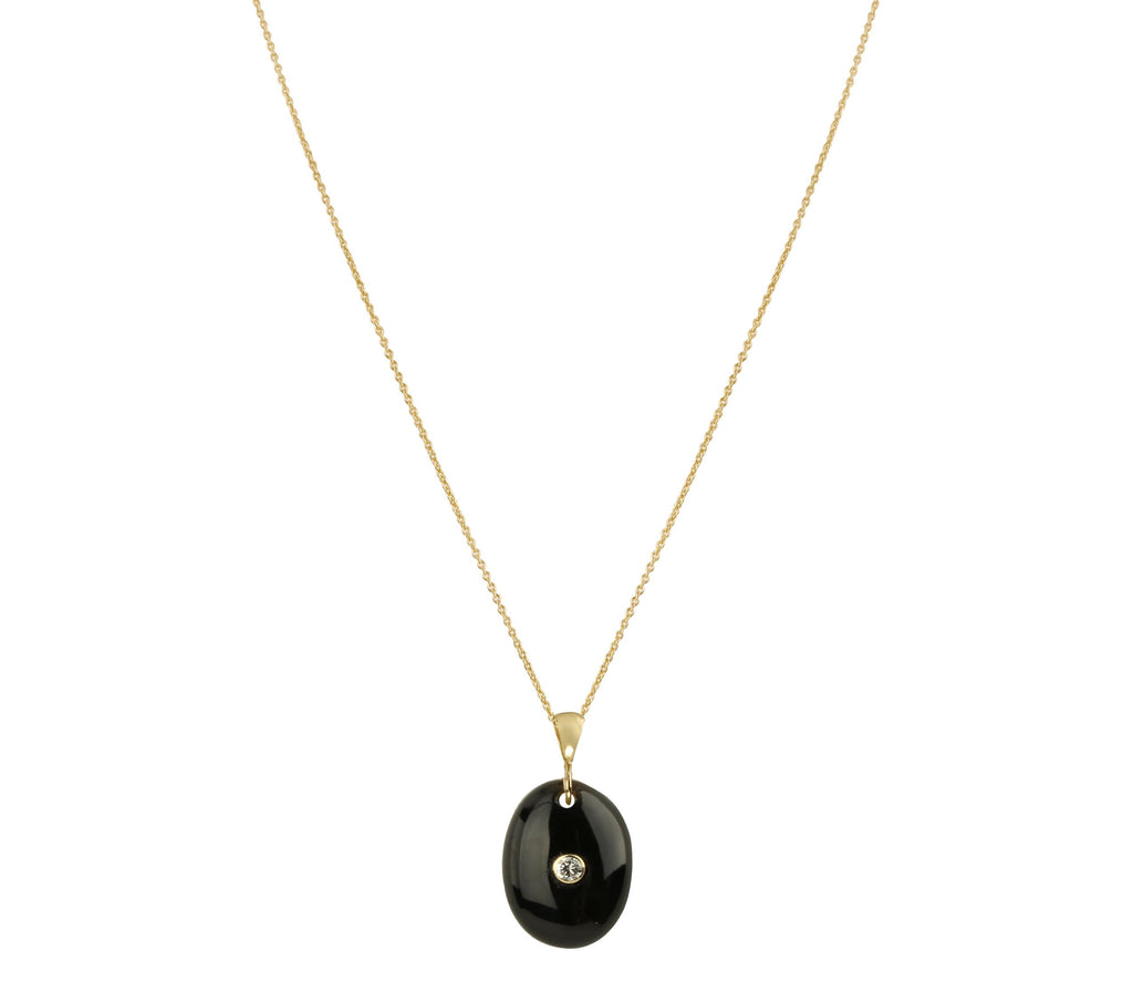 Iah - Onyx Necklace
