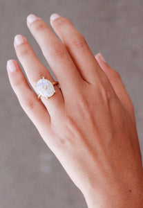 Lua - Moonstone Ring