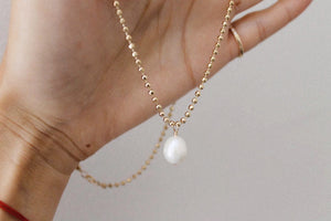 Adeline Pearl Necklace
