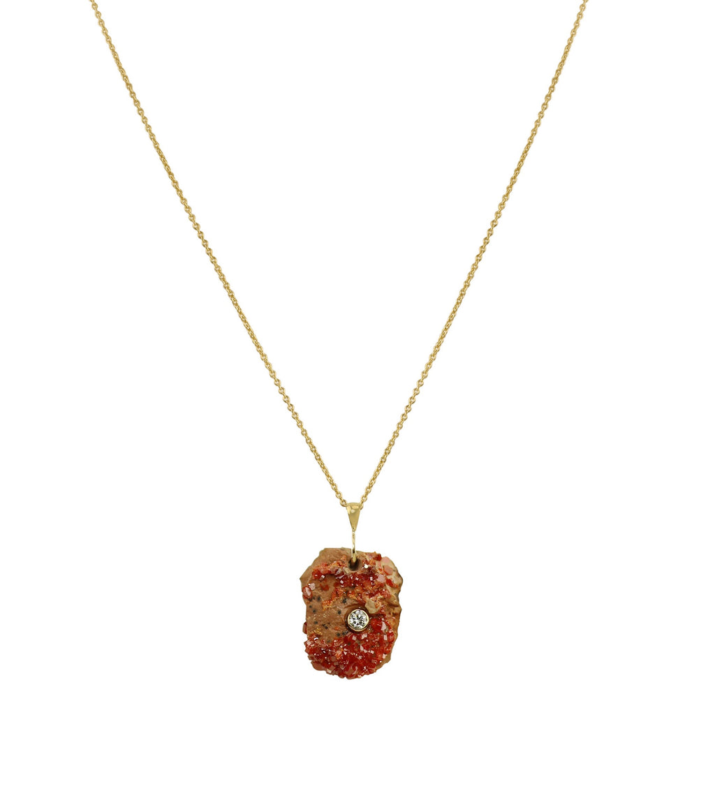 Sun - Vanadinite Necklace