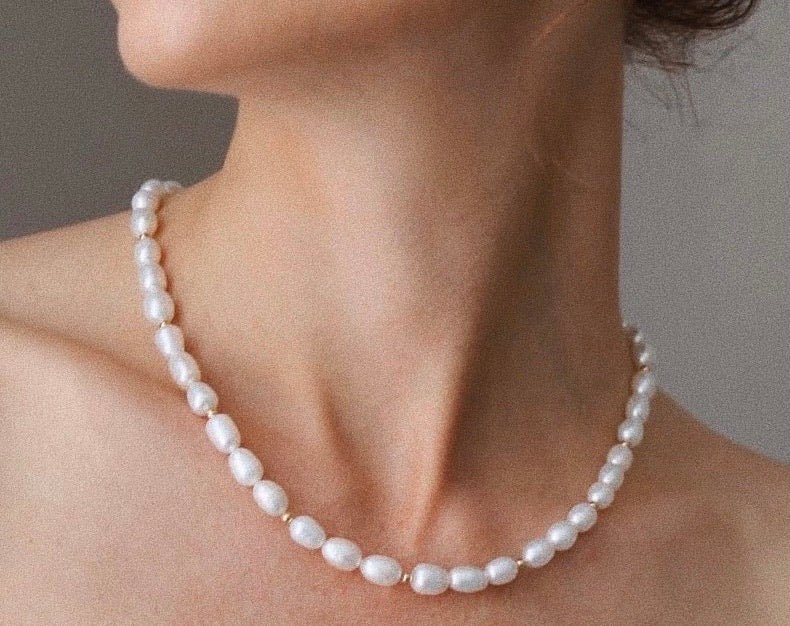 Asher Pearl Necklace