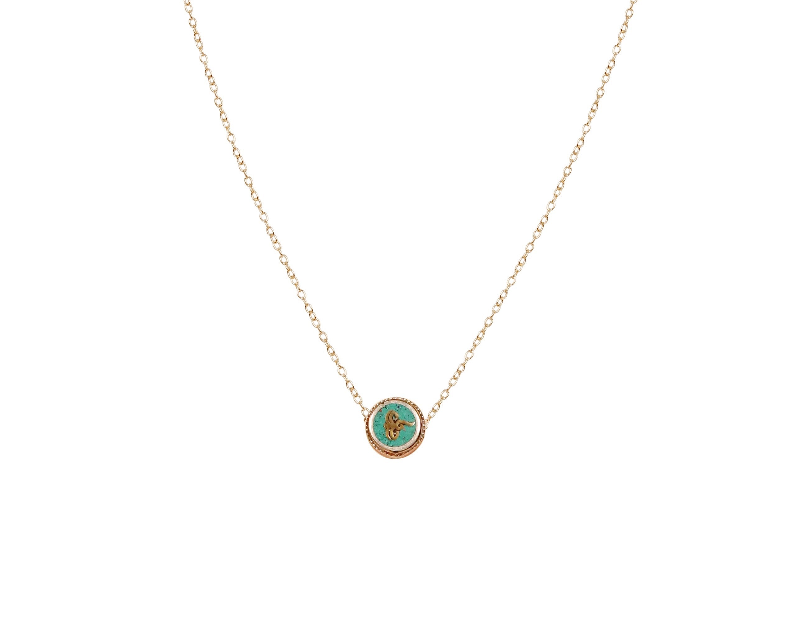 Helen Evil Eye Protection Necklace