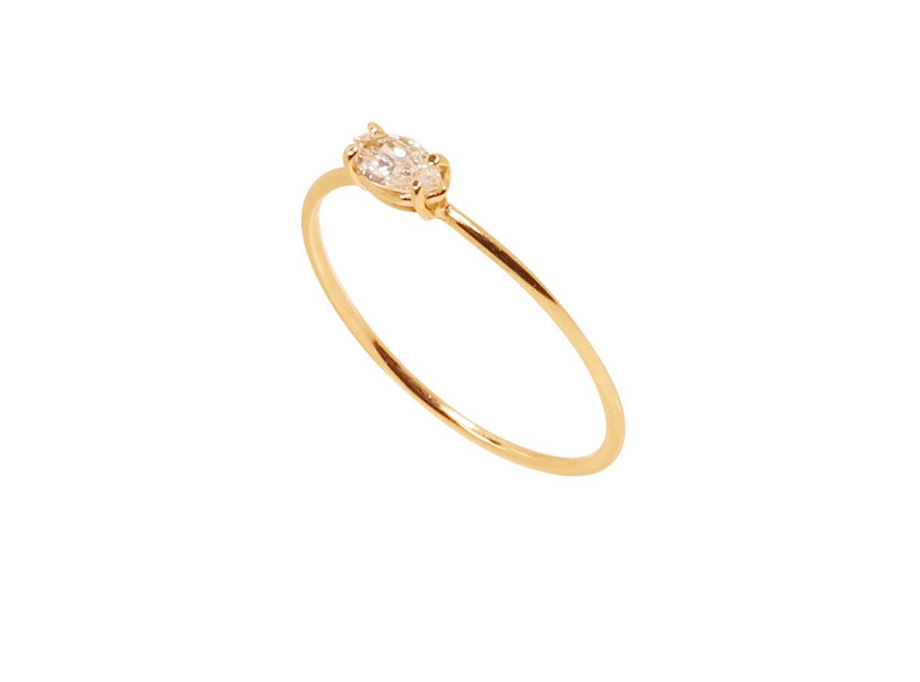 Evelyn Marquise Diamond Ring