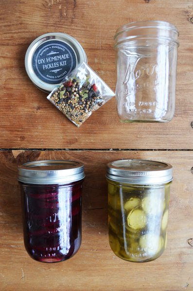 DIY Homemade Pickles Kit - Spicy and Sweet