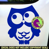Owl - Bird Owls Love Vinyl Decal Sticker