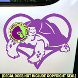 TORTOISE - Coming out of a Heart - Vinyl Decal Sticker