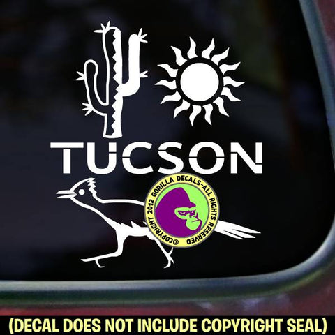 Arizona State - TUCSON Vinyl Decal Sticker