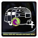 Airstream Vinyl Decal Sticker