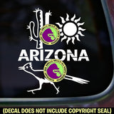 ARIZONA STATE Vinyl Decal Sticker