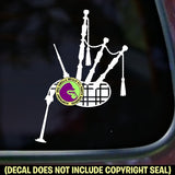 Bagpipes Vinyl Decal Sticker