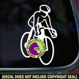 Cycling Biking Road Vinyl Decal Sticker