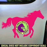BIG HORSE RUNNING Vinyl Decal Sticker