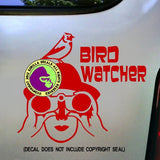 BIRD WATCHER Vinyl Decal Sticker