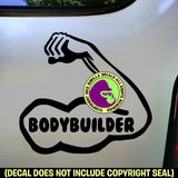 BODYBUILDER Vinyl Decal Sticker
