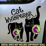 CAT WHISPERER Vinyl Decal Sticker