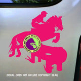 Cross Country Vinyl Decal Sticker