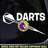 Darts - DARTS Vinyl Decal Sticker