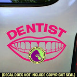DENTIST Vinyl Decal Sticker