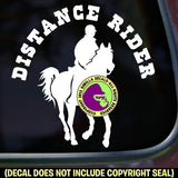 Endurance - DISTANCE RIDER Vinyl Decal Sticker