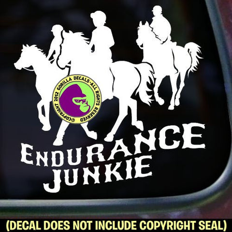 Endurance - ENDURANCE JUNKIE Vinyl Decal Sticker