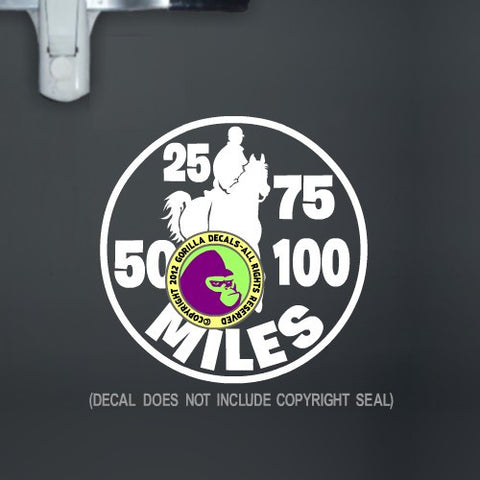Endurance - MILEAGE Vinyl Decal Sticker