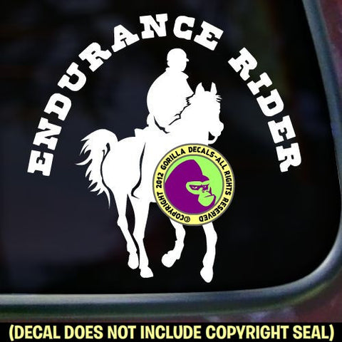 ENDURANCE RIDER Vinyl Decal Sticker