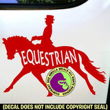 EQUESTRIAN INSIDE Dressage Vinyl Decal Sticker