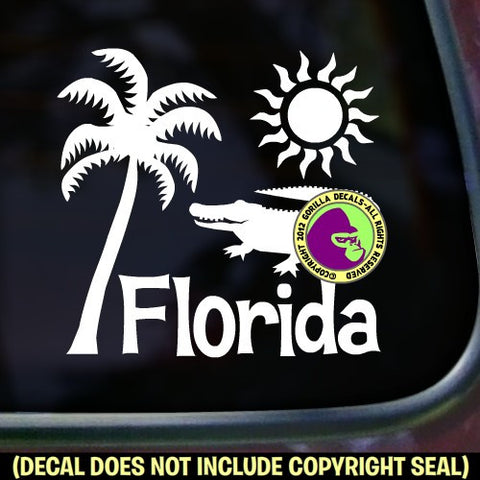 FLORIDA STATE Vinyl Decal Sticker
