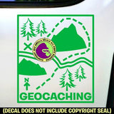 GEOCACHING Cache Vinyl Decal Sticker