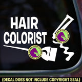 HAIR COLORIST Vinyl Decal Sticker