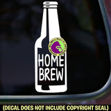Beer - HOME BREW Brewing Vinyl Decal Sticker