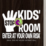 KIDS ROOM Vinyl Decal Sticker