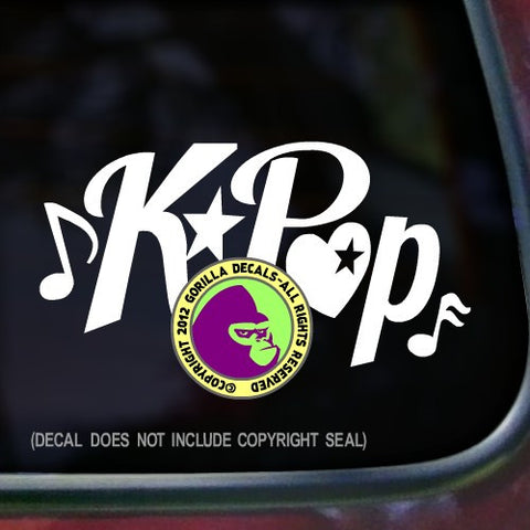 K-POP Korean Pop Band Vinyl Decal Sticker