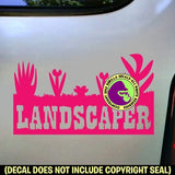 LANDSCAPER LAWN Vinyl Decal Sticker