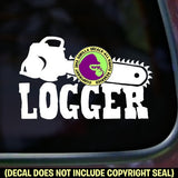 LOGGER Vinyl Decal Sticker
