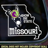 MISSOURI STATE Vinyl Decal Sticker